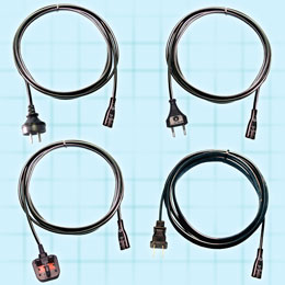 2 Conductor IEC 320/C7 International Detachable Power Cordset. These cordsets are approved to international safety agency requirements. GlobTek's designs are available in various lengths, cable types,...