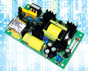 Power Supplies for Medical and ITE Applications Open-Frame 3x5 80 Watt