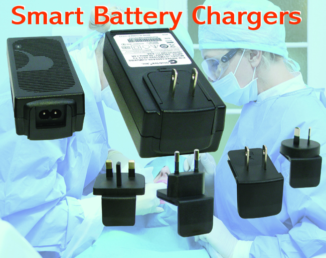 Smart Battery Chargers Offer Three-Phase Operation