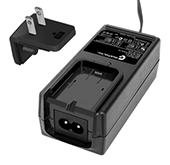 GTM91128LIXCELM, ITE / Medical Power Supply, Wall Plug-in+Desktop Combination, Li-Ion Battery Charger, , Input Rating: 100-240V~, 50-60 Hz, IEC 60320/C8 AC Inlet connector, Output Rating: 12.6 Watts, Power rating with convection cooling (W) , 4.2-12.6V in 0.1V increments, Approvals: ETL; CE; China RoHS; Double Insulation; PSE; RoHS; Ukraine; VCCI; WEEE; IP54;